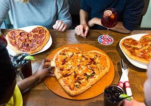 Boston's Pizza Restaurant & Sports Bar Spreads Joy This Holiday Season, Offers Heart-Shaped Pizzas