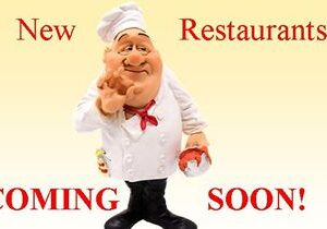 New Restaurants OPENING in the New Year!