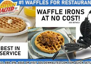 Add America's #1 Waffles to Your Menu – It's Quick & Easy with Golden Malted