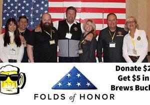 Mr Brews Taphouse Continues Veteran Support through Partnership with Folds of Honor