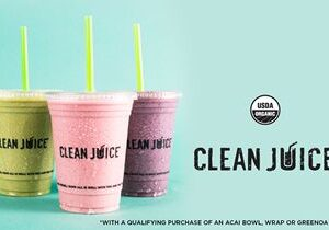 Clean Juice Recognizes National Smoothie Day by Establishing a Week-Long Celebration