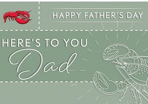 Red Lobster Celebrates Dads with Special Offerings and Gift Card Deal