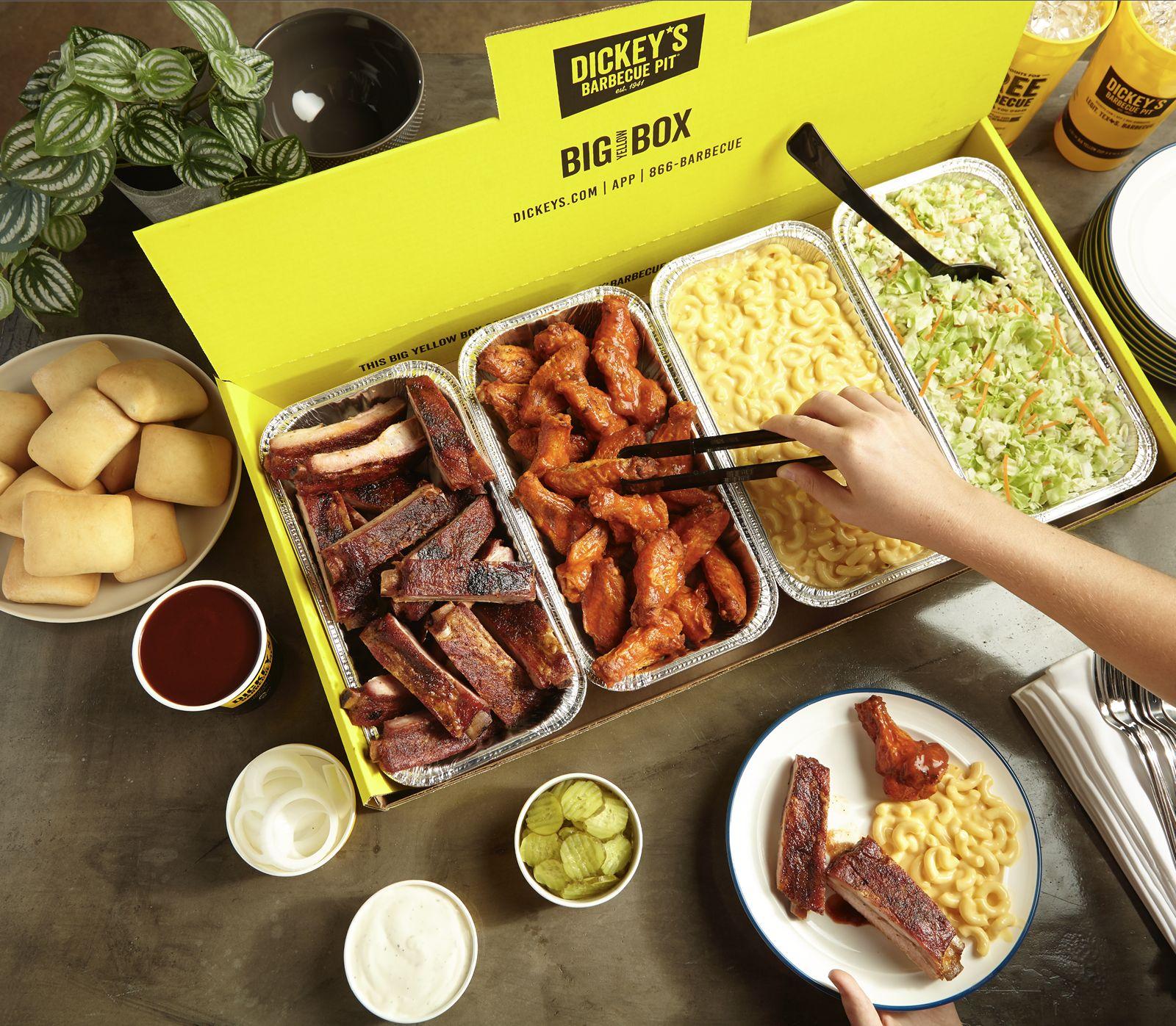 Celebrate Labor Day with Dickey's Legit. Texas. Barbecue.