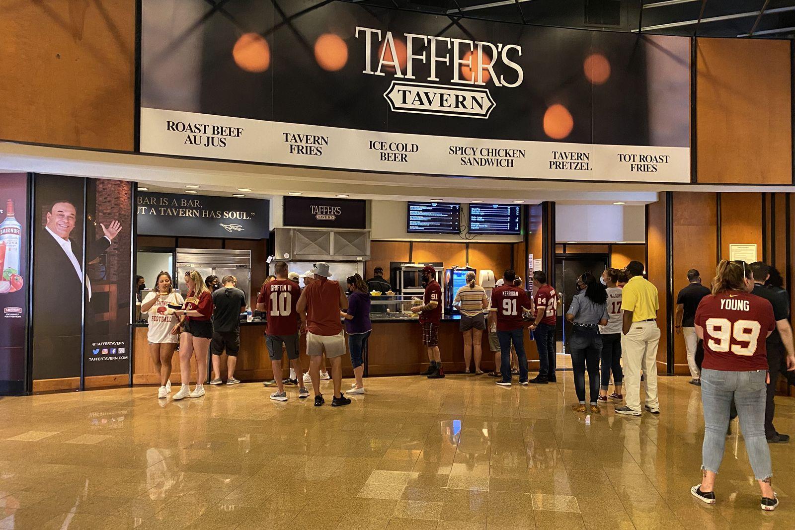 Jon Taffer Brings Innovative Taffer's Tavern Concept to FedEx Field