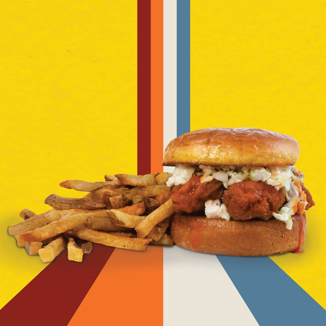Wing Boss Buffalo Chicken Sandwich