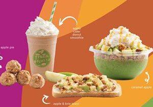 "Frutta Bowls Celebrates Season with New Apple Spiced ""Legends of Fall"" Menu Items"