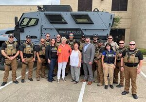 The Dickey Foundation Awards Grant to Rowlett Police Department's SWAT Team