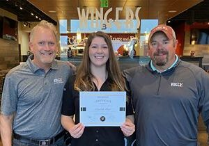 Wingers Announces Recipient of First-Annual Hospitality Scholarship